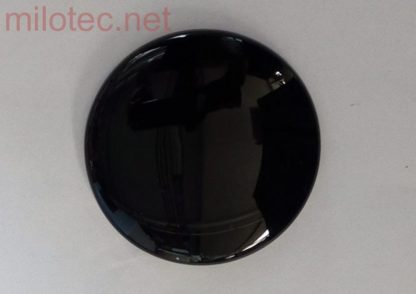 Kryt emblému – zadní, černá metalíza, Citigo od r.v. 2012 / Superb II. Combi Facelift 2013-2015 / Superb III. Lim./Combi od r.v. 2015
