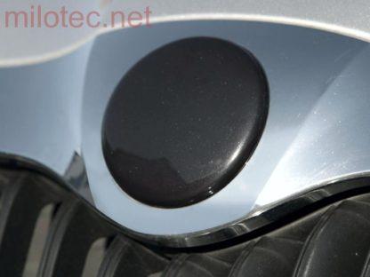 Kryt emblému – černá metalíza, Superb I. 2002-2008 / Superb II. 2008-2013