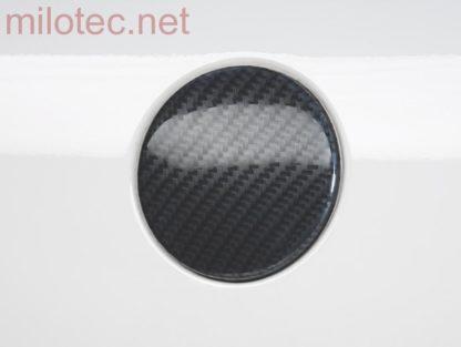 Kryt emblému 3D Carbonstyl – přední, Škoda Superb I, Octavia II, Octavia II Facelift, Roomster, Fabia II, Yeti