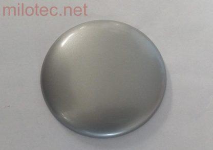 Kryt emblému – zadní, stříbrný matný, Citigo od r.v. 2012 / Superb II. Combi Facelift 2013-2015 / Superb III. Lim./Combi od r.v. 2015