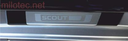 Ochranné kryty prahů – zadní, Škoda Octavia III. Scout Combi, od r.v. 2013