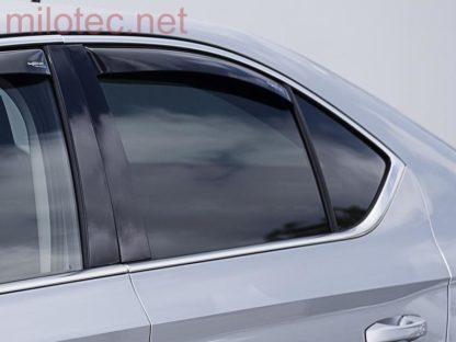 Ofuky oken (deflektory) – zadní, Superb III. Limousine od r.v. 2015