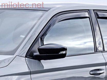 Ofuky oken (deflektory) – přední, Fabia III. 2014 – 2018 / Fabia III. Facelift od r.v. 09/2018 –›