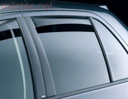 Ofuky oken (deflektory) – zadní, Octavia II. Lim./RS Lim., 2004-2012