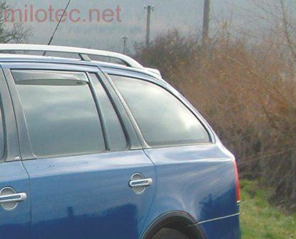 Ofuky oken (deflektory) – zadní, Octavia II. Combi/RS Combi, 2005-2012