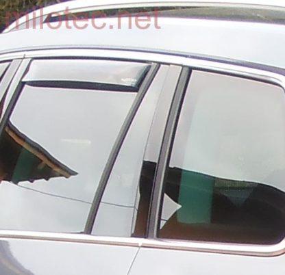 Ofuky oken (deflektory) – zadní, Kodiaq od r.v. 2016