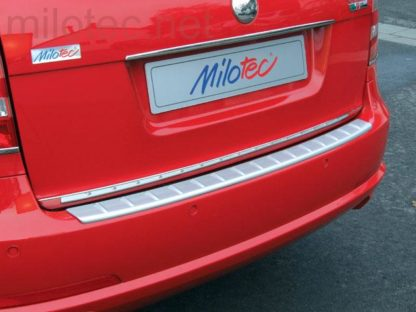 Práh pátých dveří s výstupky, stříbrný matný, Octavia II. RS Combi 2005-2008 / RS Combi Facelift 2009-2012