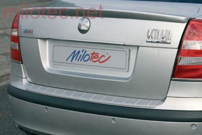 Práh pátých dveří s výstupky, stříbrný matný, Octavia II. Limousine 2004-2008 / RS Lim. Facelift 2008-2012