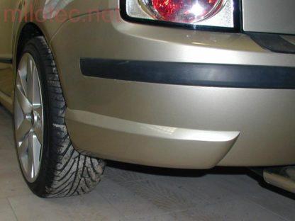 Rozšíření zadního nárazníku – stříbrné matné, Fabia I. Combi/Sedan 2000-2007