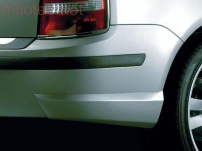 Rozšíření zadního nárazníku – černé, Fabia I. Combi/Sedan 2000-2007