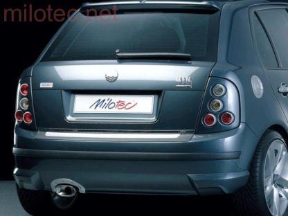 Rozšíření zadního nárazníku – stříbrné matné, Fabia I. Limousine 2000-2007