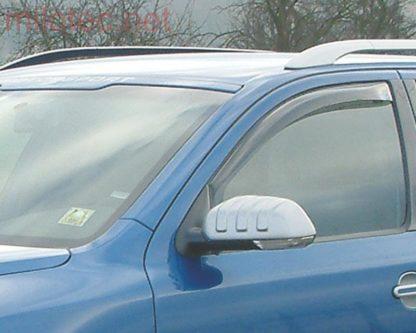 Ofuky oken (deflektory) – přední, Octavia II. Lim./Combi/RS, 2004-2008